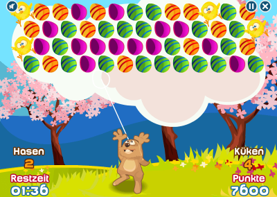 EggyPop Spiel