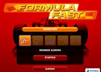 FormulaFast Auswahl