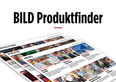 BILD Produktfinder