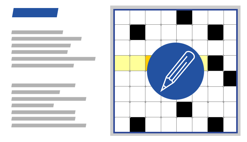 Rätselspiele Sudoku und Kreuzworträtsel