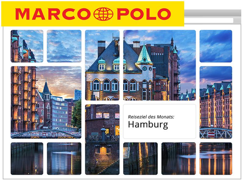 Games und Gewinnspiele für den Kunden Marcopolo.de