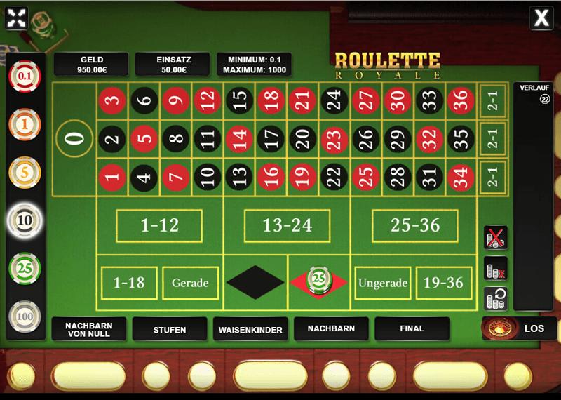 Casino Game Roulette als Werbespiel oder Gewinnspiel
