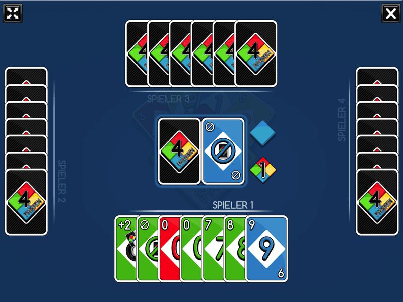Skillgame Vier Farben als Casual Game, Werbespiel oder Gewinnspiel