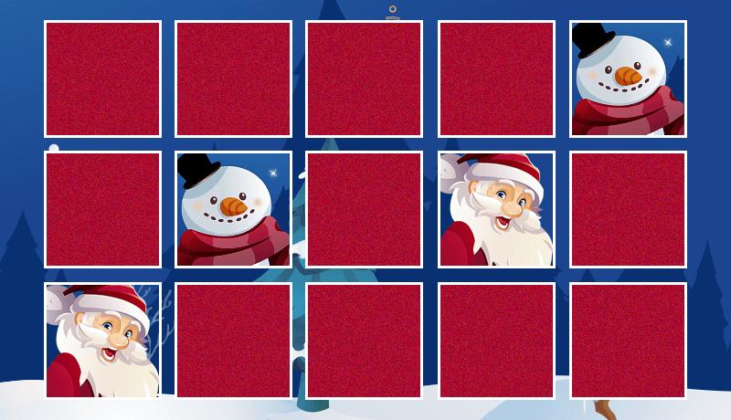 Online Memo als Adgame oder Gewinnspiel für Ihre Kampagne zu Weihnachten